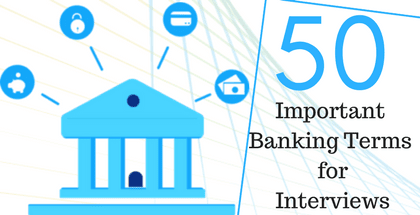 Banking Terms For Interview Pdf