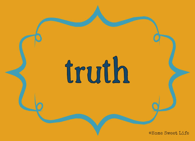 Christian living, 31 day writing challenge, truth