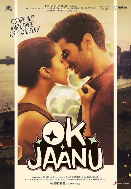 3rd Poster of Shraddha Kapoor's OK Jaanu