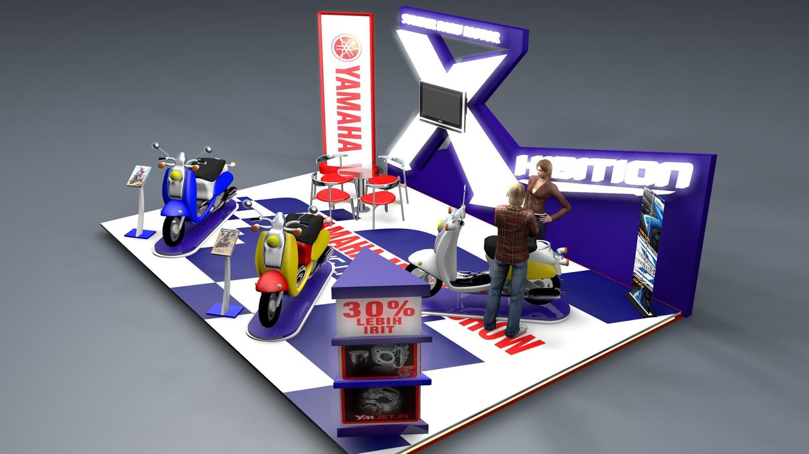 Job pertama Design 3D