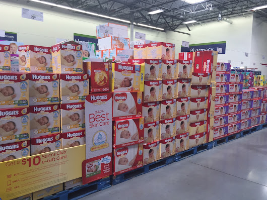 Ellia Shares Huggies Little Snugglers and Natural Care Wipes Savings at Sam's Club