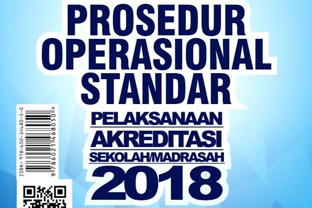 POS Akreditasi 2018 Sekolah Dan Madrasah Dan Perangkatnya