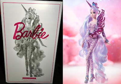 Кукла Barbie как единорог обзор игрушки Mattel