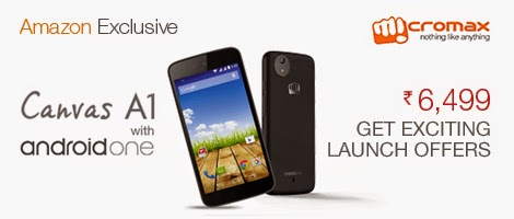 Micromax is a leading  mobile telephone build inward Republic of Republic of India together with currently the minute largest smart Get the build novel Micromax Canvas A1 amongst android one.