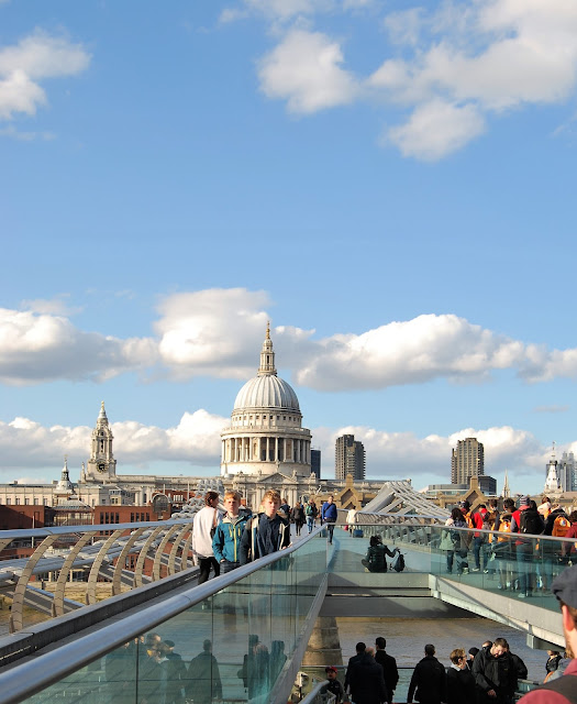 Days Out in London, climbing St Paul's, photo by Modern Bric a Brac