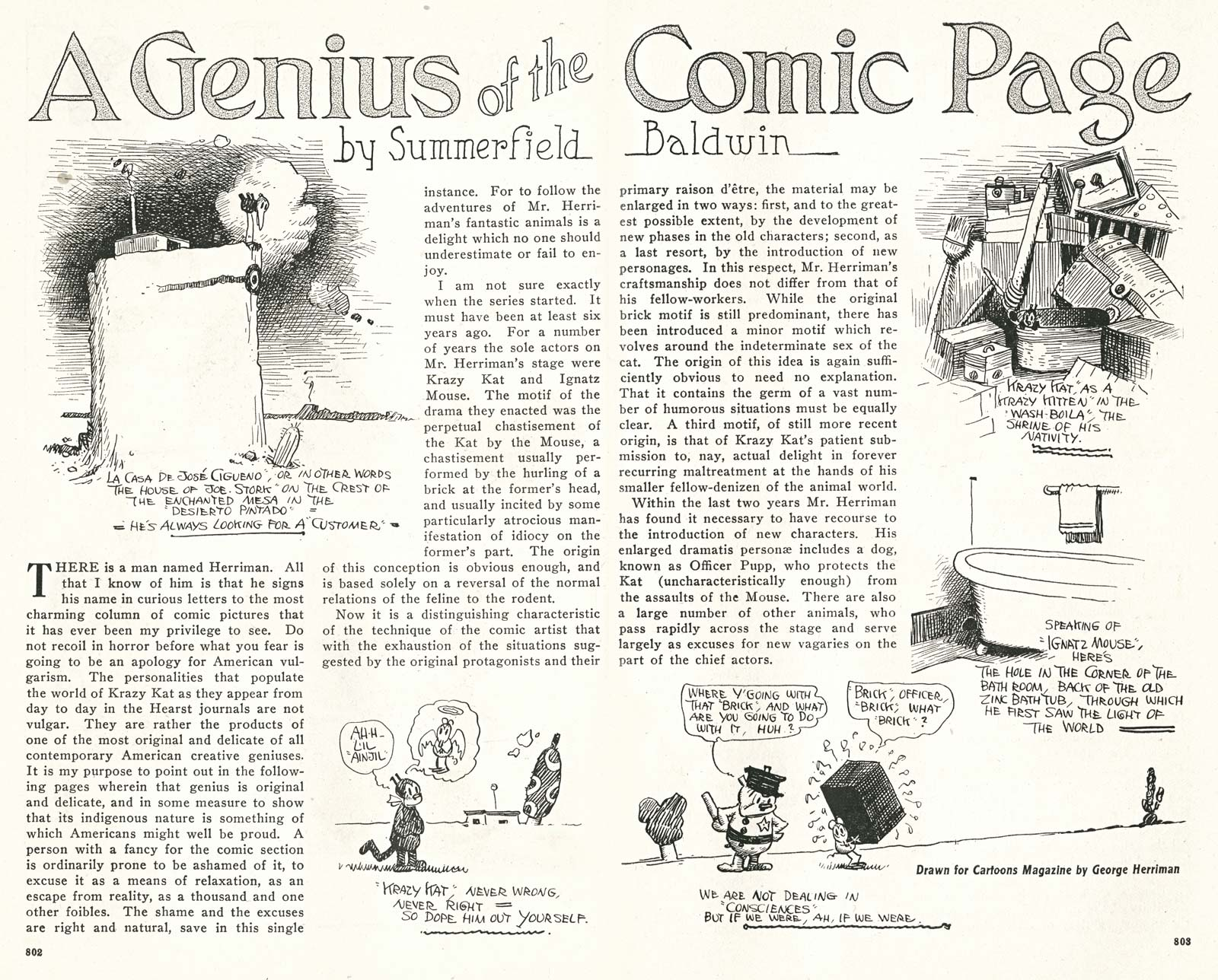 Kleefeld on Comics: On Strips: 1917 Herriman Summary