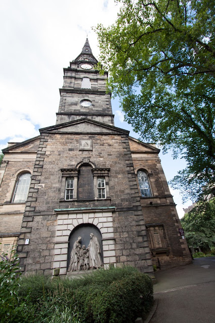 St Cutbert's Parish church-Edimburgo