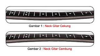 Cara Merawat Neck Gitar agar Tidak Melengkung