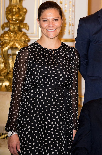 Crown Princess Victoria of Sweden, Princess Margriet of the Netherlands, Prince Albert of Monaco, Grand Duchess Maria Teresa of Luxembourg