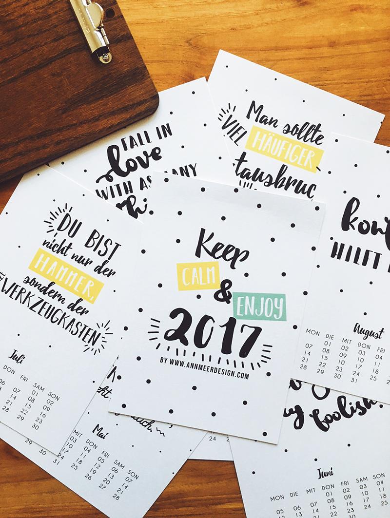 nikolaus gewinnspiel mein spr che kalender 2017 ann. Black Bedroom Furniture Sets. Home Design Ideas