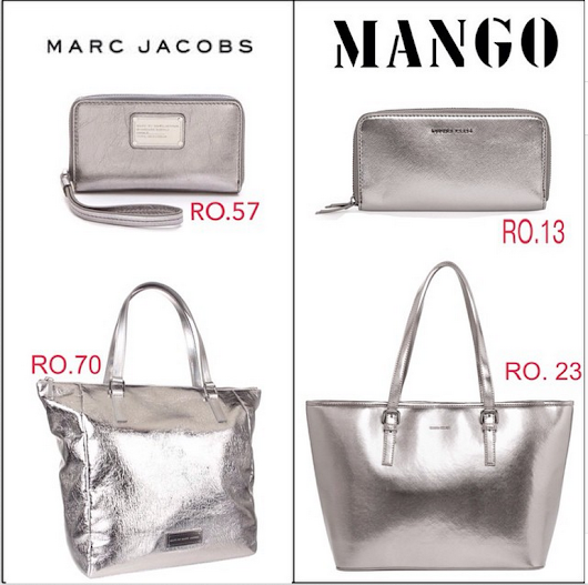 Look For Less: Mango VS Marc Jacobs.