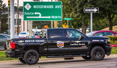 Chevrolet Certified Service Rescue Squad Will Help Classic Cars Driving in Woodward Dream Cruise