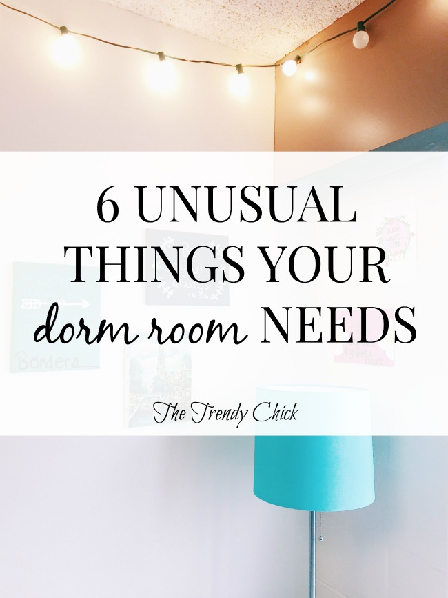 6 Unusual Things Your Dorm Room NEEDS