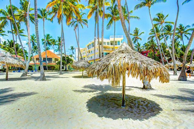 Praia Los Corales em Punta Cana