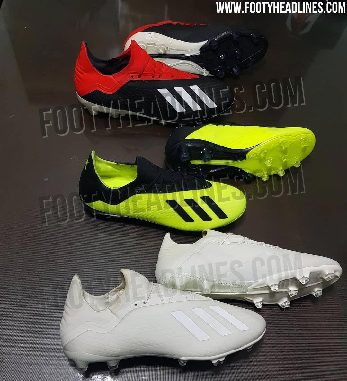 56abde5407f 4 Adidas X 18 2018 Boots Leaked - Footy Headlines