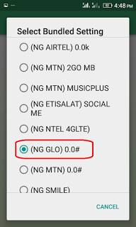 Glo 0.00k blazing on Tweakware v3.3 Free Browsing (Get Settings) 6