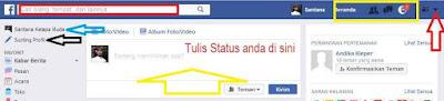 Ganti foto profil di Facebook