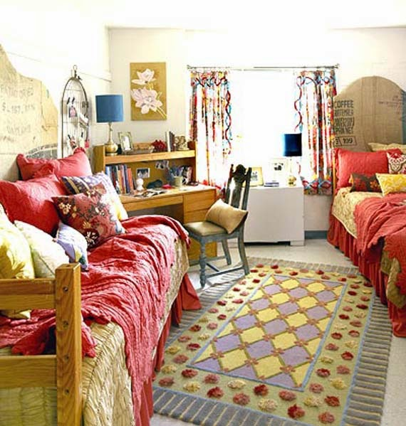 Small Bedroom Decorating Ideas For College Student Part - 32: Small Bedroom Decorating Ideas College Student Style