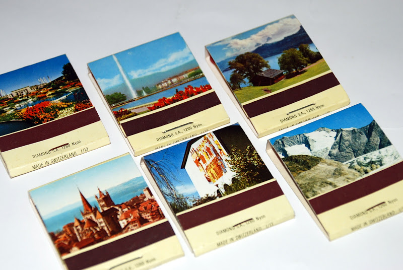 MATCHBOXES AND LABELS COLLECTION: SWITZERLAND
