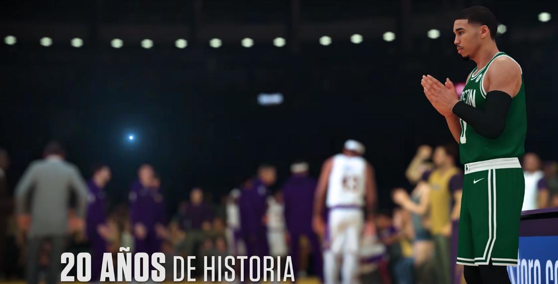 NBA 2K19 presenta primer tráiler gameplay