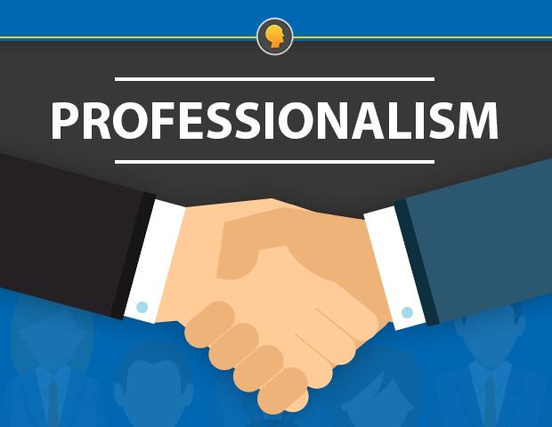 English and Professionalism