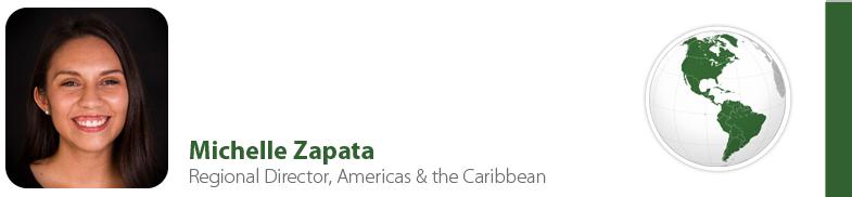 Michelle Zapata, IYF Regional Director, Americas & Caribbean
