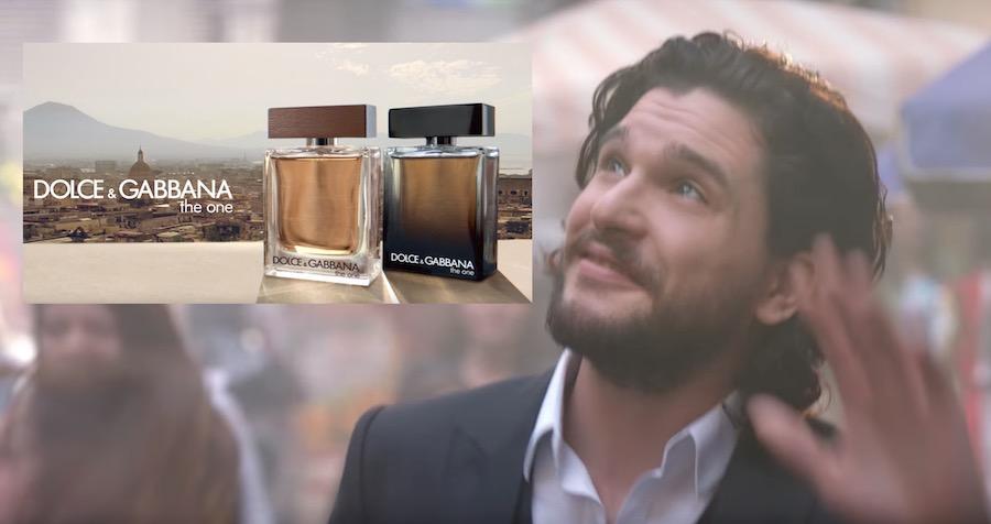 Canzone, Modello Pubblicità Dolce e Gabbana profumo The One da uomo