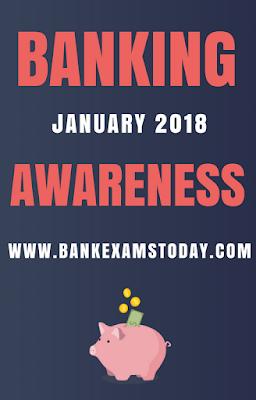 Banking Awaress Digest- January 2018