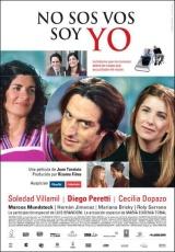 """Carátula del DVD: """"No sos vos, soy yo"""""""
