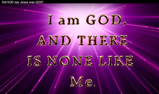 What GOD says that: THERE IS NONE LIKE Me, proves the TRINITY is false, simply because there are TRINITY gods which are identical to the concept of GOD as a TRINITY.