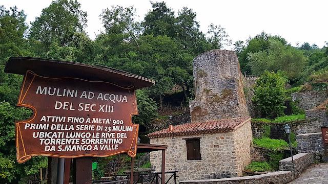 Mulini ad acqua del 13 secolo