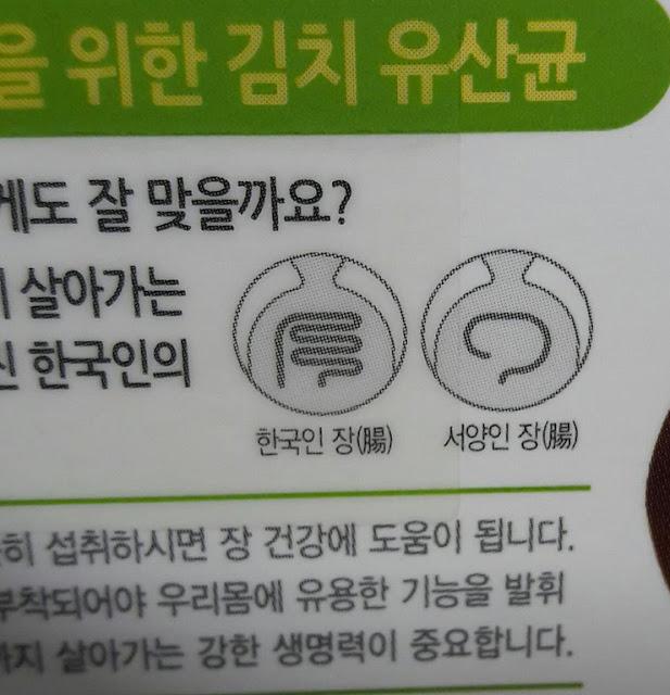 Los coreanos tienen los intestinos más largos