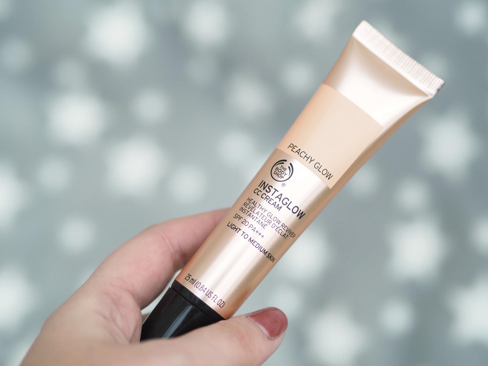 The Body Shop Instaglow Peachy Glow CC Cream