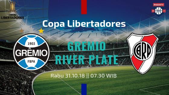 Streaming Gremio vs River Plate