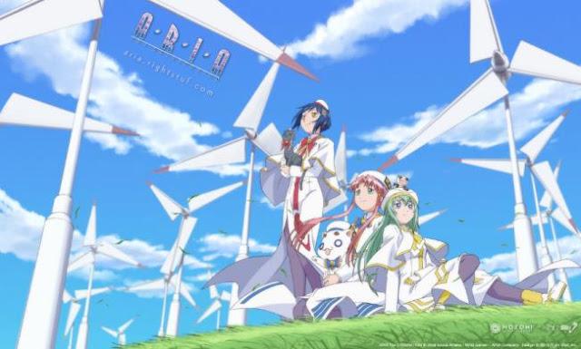 Anime Bagus Underrated  yang Jarang Ditonton/Direkomendasi - Aria The Origination