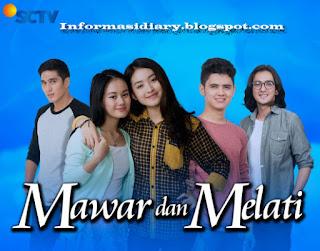 Sinopsis Mawar Melati Sctv Jumat 12 Mei - Episode 9.