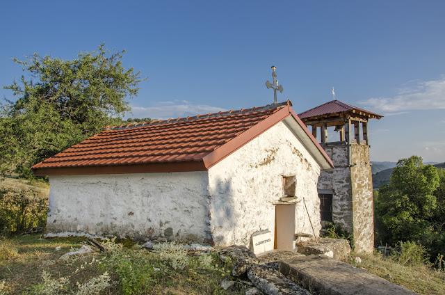 Св. Димитриј, село Груниште, Мариово