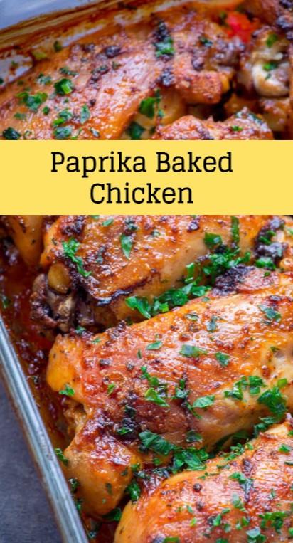 Paprika Baked Chicken