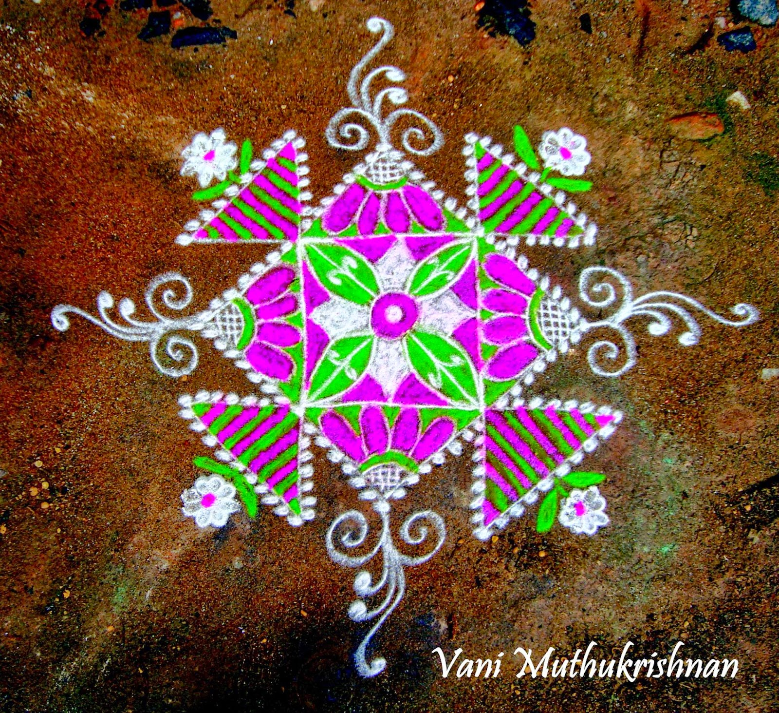 Kolam Designs 29