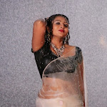 Hot South Indian Aunty in Wet Saree