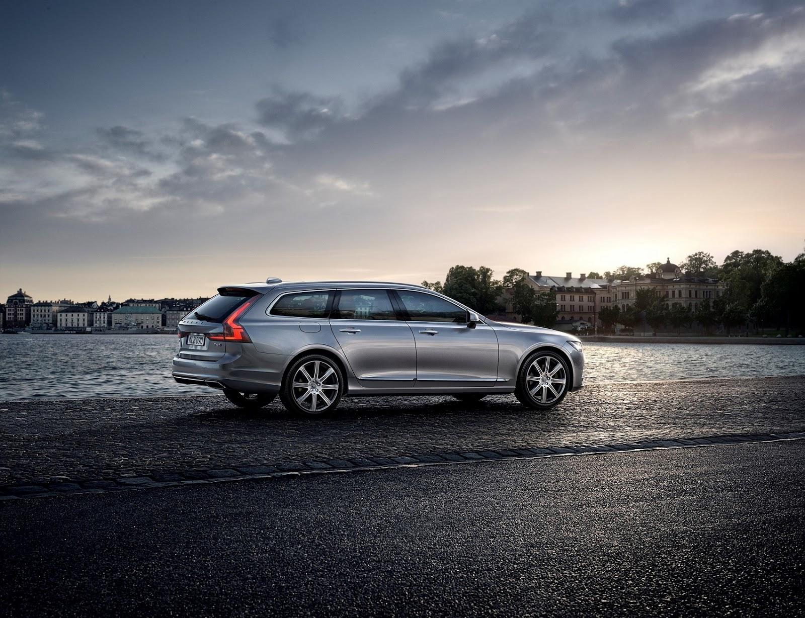 NEO%2BVOLVO%2BV90 8 Το V90 είναι το πιο όμορφο, το πιο ασφαλές station wagon και το πιο... Volvo Station Wagon, Volvo, Volvo V90