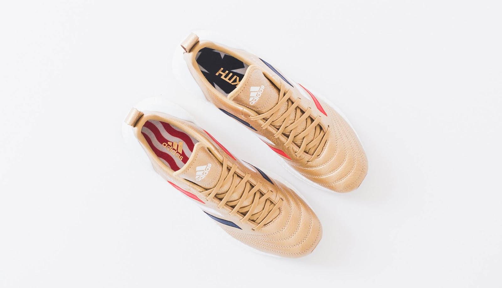 917b13f1e The Kith x Adidas Soccer COPA Mundial 18 UltraBOOST retails at  200 USD.  The Kith x Adidas Soccer Chapter 3 footwear ...