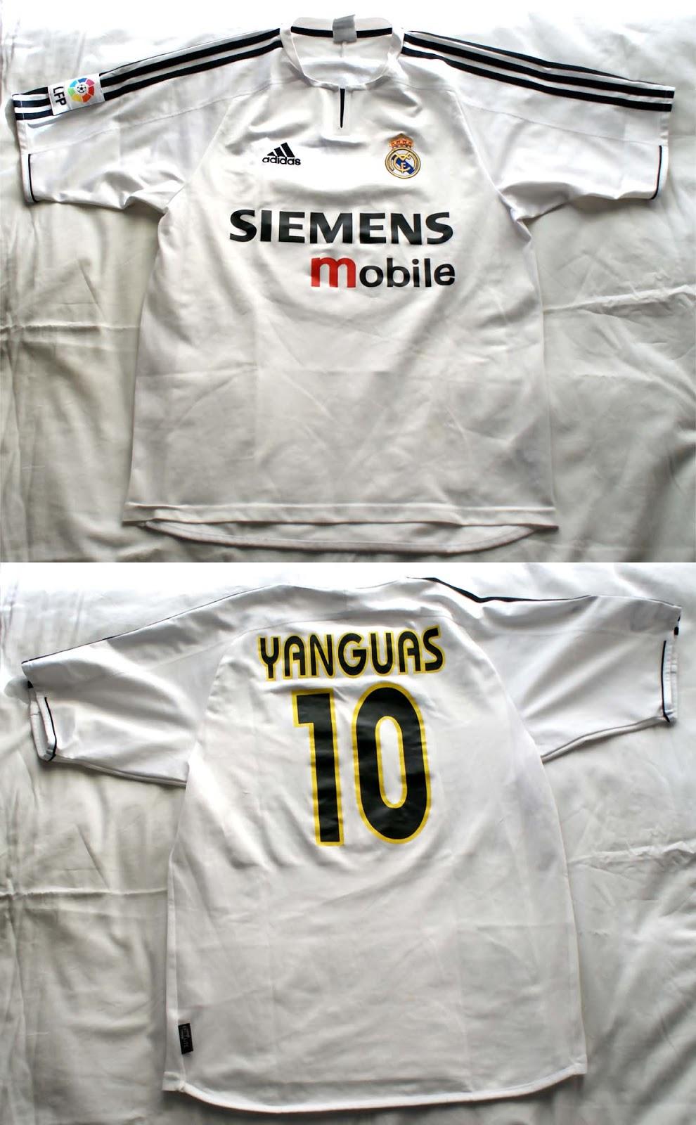 1º Camiseta Real Madrid 2004 2005 f3700d12a3176