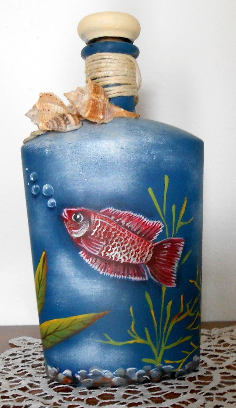 Countryliza l 39 acquario in bottiglia for Oggetti per acquario