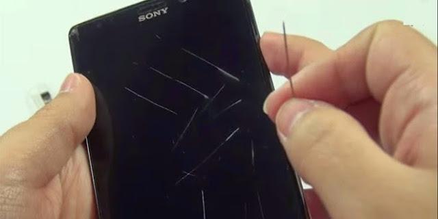 كيف تزيل الخدوش على شاشة هاتفك الذكي بأسهل طريقة ممكنة