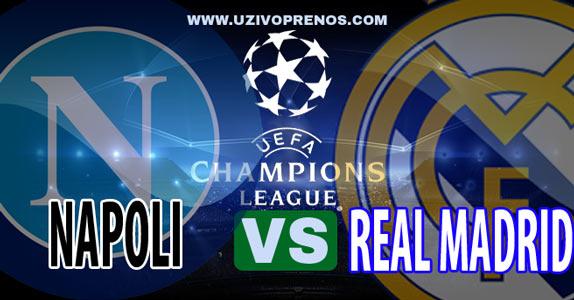Napoli - Real Madrid uživo gledanje