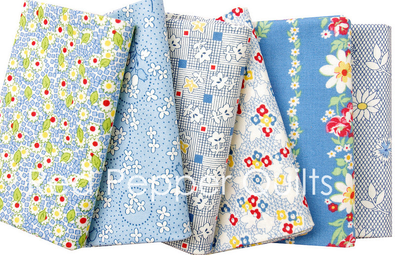 Pinafores and Petticoats by Kaye England  for Wilmington Prints | Red Pepper Quilts 2016