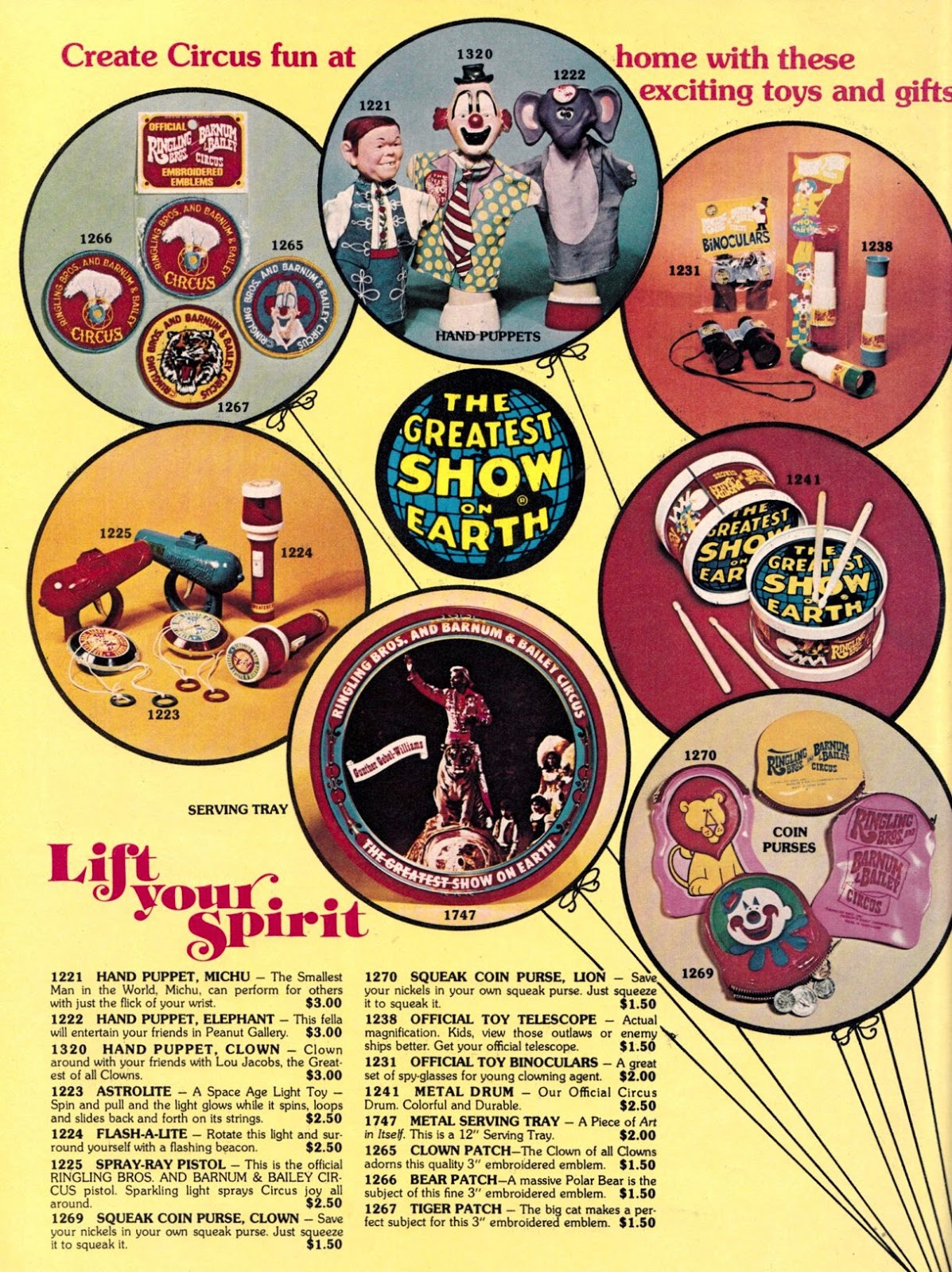 and everything else too circus u002776 mail order catalog gallery