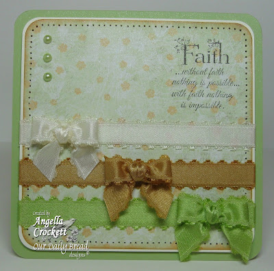Our Daily Bread designs Flowering Faith Designer Angie Crockett
