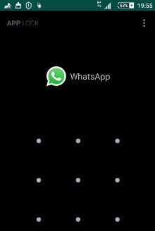 Como bloquear o WhatsApp com senha